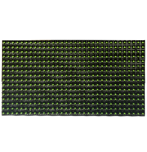 Single green LED module  (P10-1G)